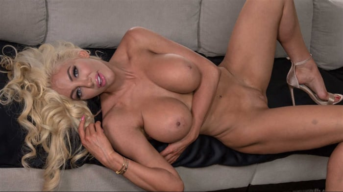 Nicolette Shea in Just Gotta Rest My Breasts